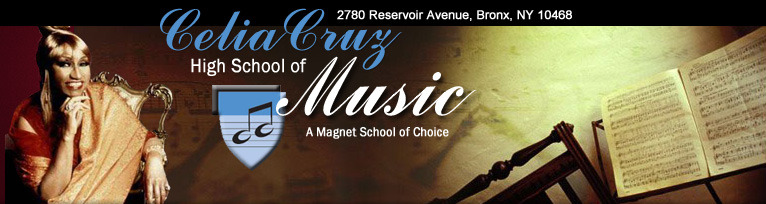 Welcome to the Celia Cruz High School of Music Website